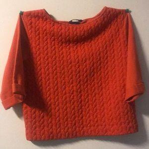 H&M crop sweater top